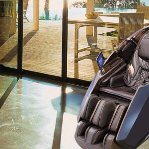 Galaxy X massage chair - living room or office terrace area