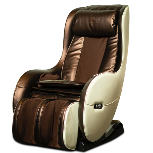 White Brown Neptun Massage Chair