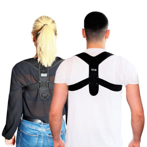Posture Corrector Holdningskorrigerende rygstøtte mand og kvinde